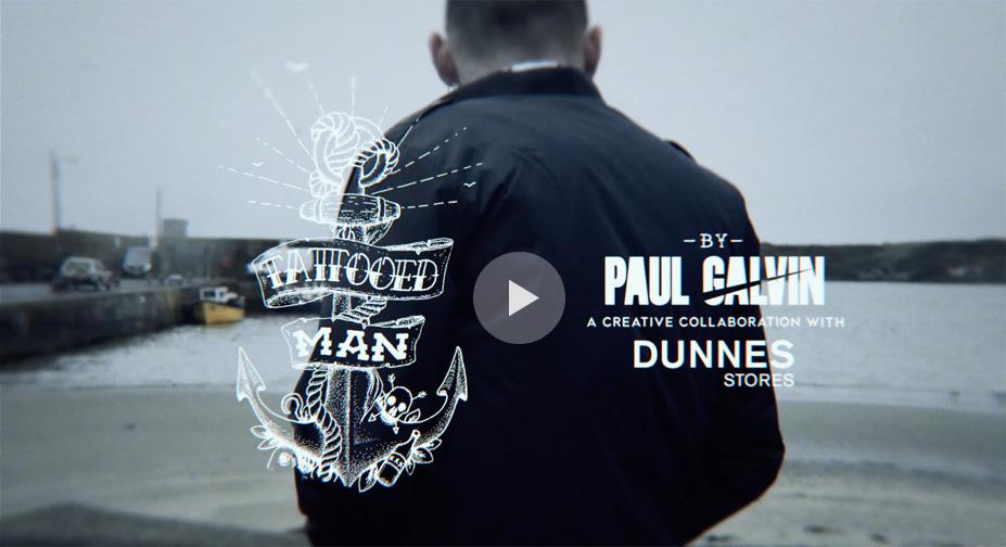 Paul Galvin Video Poster