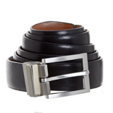 black-black Mens Reversible Belt