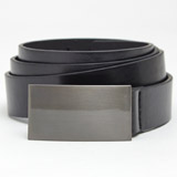 black-black Tab Buckle Belt