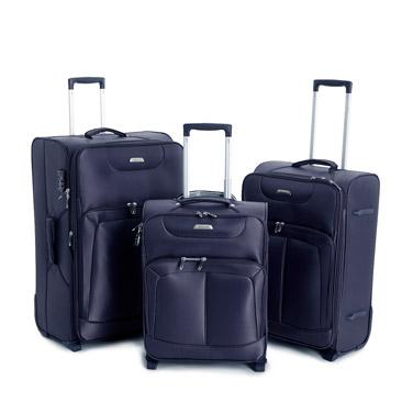 navyMax Lightweight Two Wheel Luggage
