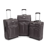 grey Max Lightweight Two Wheel Luggage