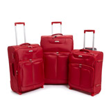 red Max Lightweight Two Wheel Luggage