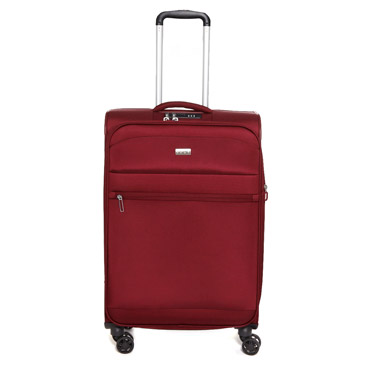 red Toledo 2.0 Medium Four Spinner Wheel Case