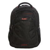 black American Tourister Laptop Backpack