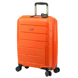 orange Jump Unbreakable Four Spinner Wheel Cabin Case