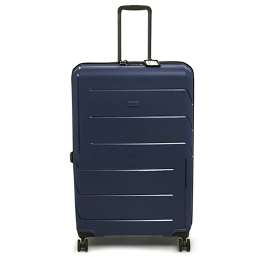 navy Jump Unbreakable Large Four Spinner Wheel Case