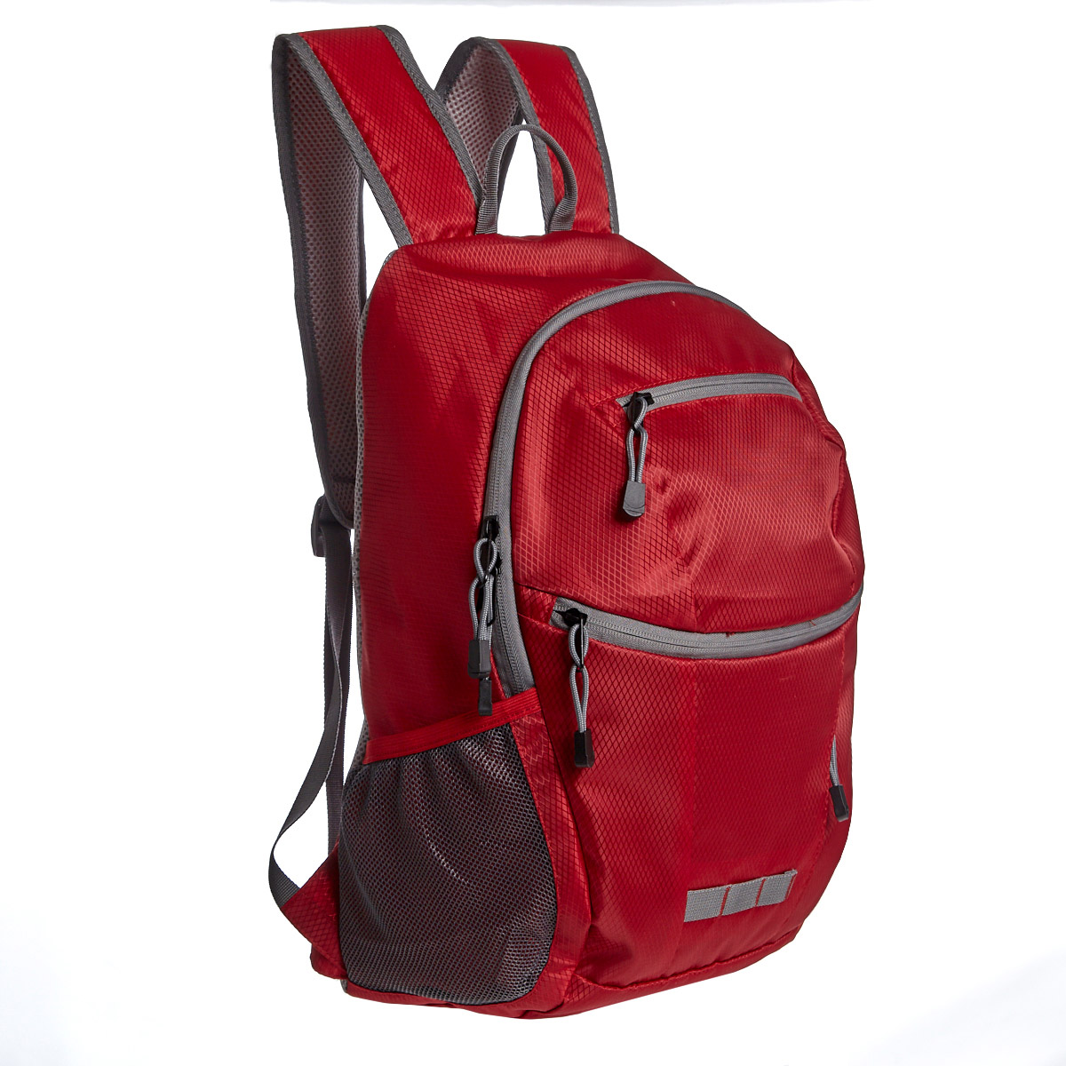 red Foldaway Backpack