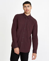 wine Paul Galvin Wine Oxford Shirt