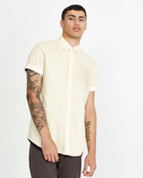 stripePaul Galvin Short Sleeve Pinstripe Shirt