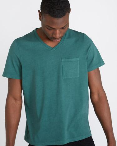 greenPaul Galvin Short-Sleeved Green T-Shirt