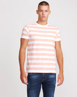 orange Paul Galvin Orange Stripe T-Shirt