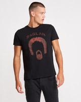 charcoalPaul Galvin Band Print T-Shirt