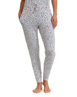 grey Animal Pyjama Pants