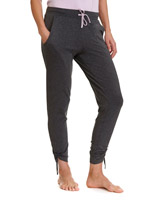 grey-marl Viscose Marl Pants