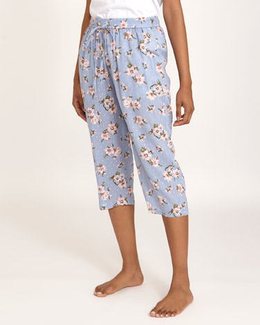 90fca419 Nightwear View All | BLUE Blue Floral Pyjama Pants | Dunnes Stores