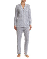 grey Animal Jersey Pyjamas