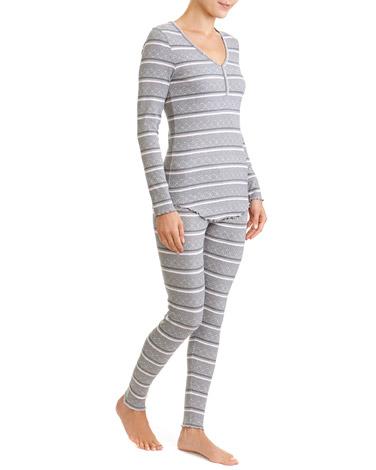 printFair Isle Rib Pyjamas