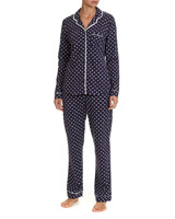 navy Cotton Revere Pyjamas