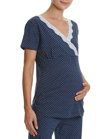 spotMaternity Pyjama Top