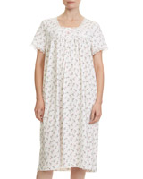 print Rose Print Nightdress