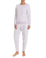 lilac Cloud Fleece Pyjamas