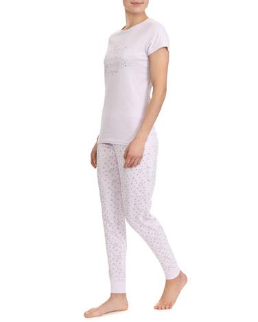 lilacStar Print Pyjamas