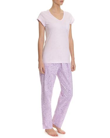 lilacAnimal Print Pyjamas