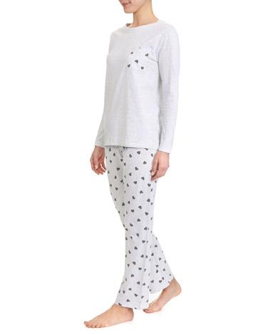 grey-marlHeart Pyjamas