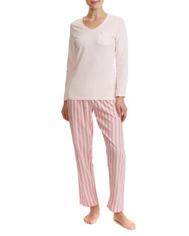 pink-stripePink Lurex Pyjamas