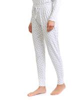 printCuffed Printed Pyjama Pants