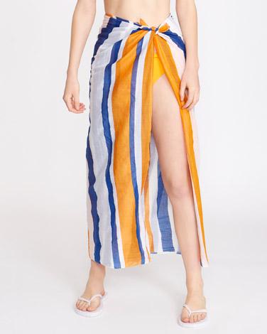 85f03e9c1b81c Beachwear | PRINT Cotton Sarong | Dunnes Stores
