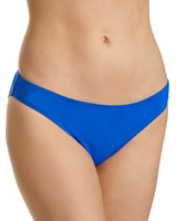 blue Maternity Hi Leg Bikini Briefs