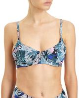 printMauritius Soft Cup Bikini Top