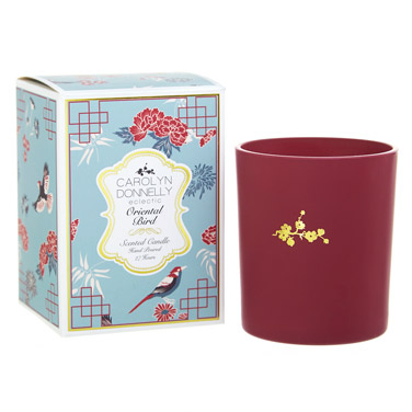 redCarolyn Donnelly Eclectic Boxed Candle