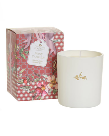 raspberryCarolyn Donnelly Eclectic Bow Fusion Scented Candle