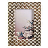gold Carolyn Donnelly Eclectic Gold Leaf Frame