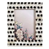 grey Carolyn Donnelly Eclectic Elephant Print Frame