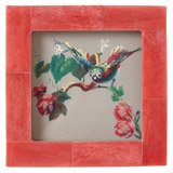 red Carolyn Donnelly Eclectic Lily Frame