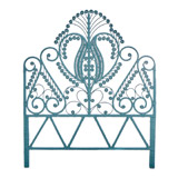 blue Carolyn Donnelly Eclectic Java Headboard