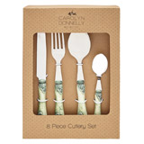 green Carolyn Donnelly Eclectic Cutlery Box Set