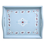 aqua Carolyn Donnelly Eclectic Artisan Tray