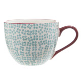 green Carolyn Donnelly Eclectic Rosie Coffee Mug