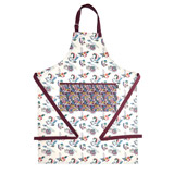 cream Carolyn Donnelly Eclectic Bloom Apron