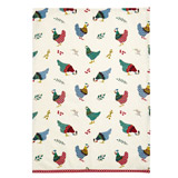 multi Carolyn Donnelly Eclectic Chicken Tea Towel