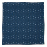blue Carolyn Donnelly Eclectic Polka Dot Napkin