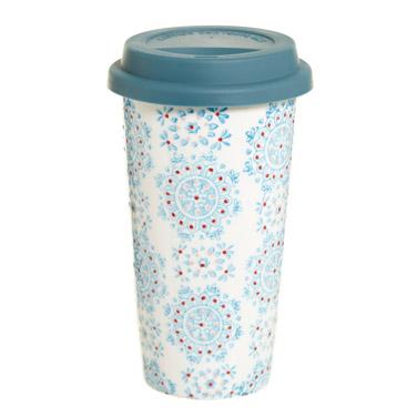 jadeCarolyn Donnelly Eclectic Travel Mug