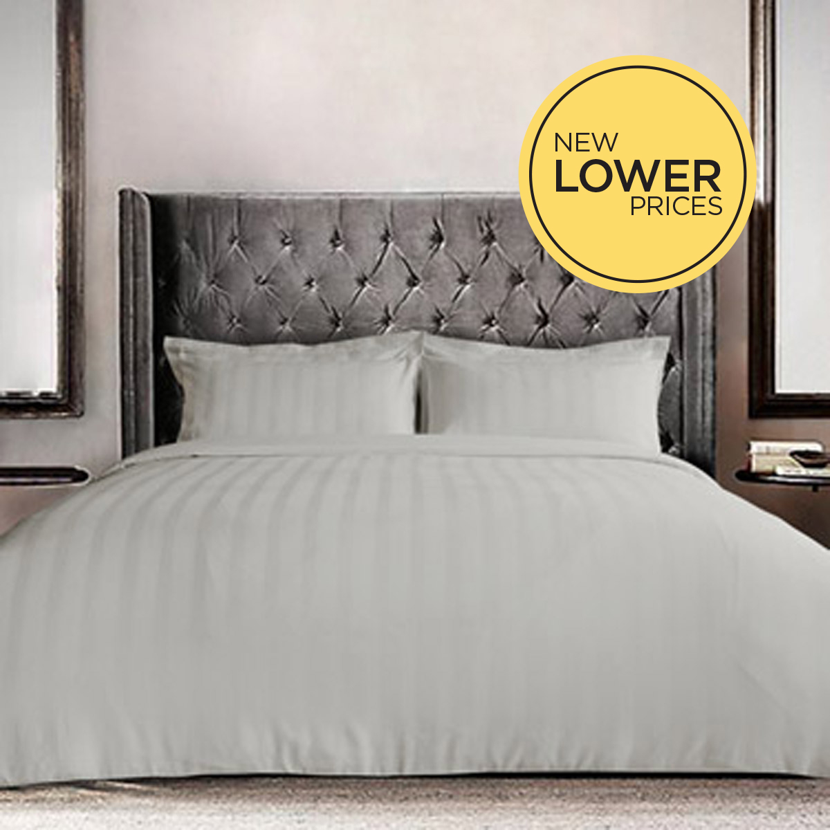 oyster Paul Costelloe Living Vittoria Duvet Cover