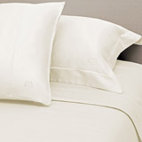 ivory Paul Costelloe Living 300 TC Fitted Sheet - Super King