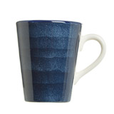navy Paul Costelloe Living Spinwash Mug