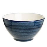 navy Paul Costelloe Living Spinwash Cereal Bowl